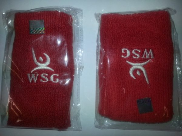 WSG Coloured Double wrist Band (Pair)