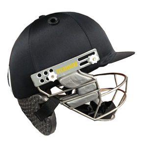 Gladius titanium helmet with neck protector (black colour) Helmets