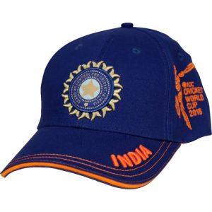 Cricket world cup 2015 INDIA MENS TEAM CAP Clothing
