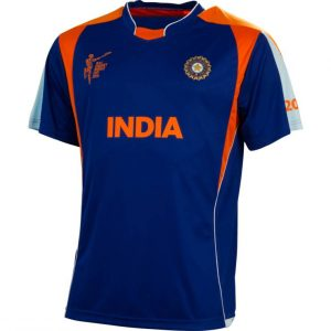 Cricket world cup 2015 INDIA MENS TEAM TECH T-SHIRT Clothing