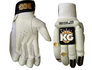 KG Batting Gloves Gold