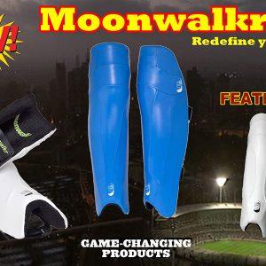 Moonwalkr Ambidextorus Batting Legguard Light Weight Leg Guards