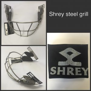 SHREY MILD STEEL POWDER COATED HELMET GRILL / VISOR