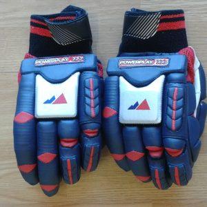 Powerplay Legend HIBS Logo embossed batting gloves