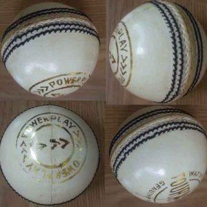 Powerplay WHITE Tournament cricket balls