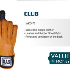 Wicket Keeping Gloves Mens - BAS VAMPIRE CLUB