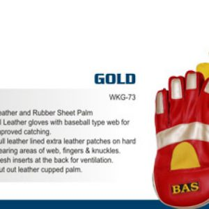 Wicket Keeping Gloves Mens - BAS VAMPIRE GOLD